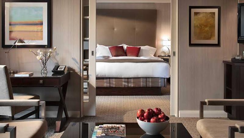 Quarto de Hotel Canada
