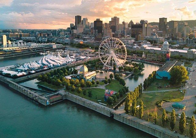 Excursão com cruzeiro em Montreal