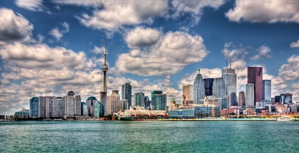 Hotéis no centro turístico de Toronto