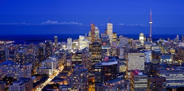 Pontos turísticos em Toronto