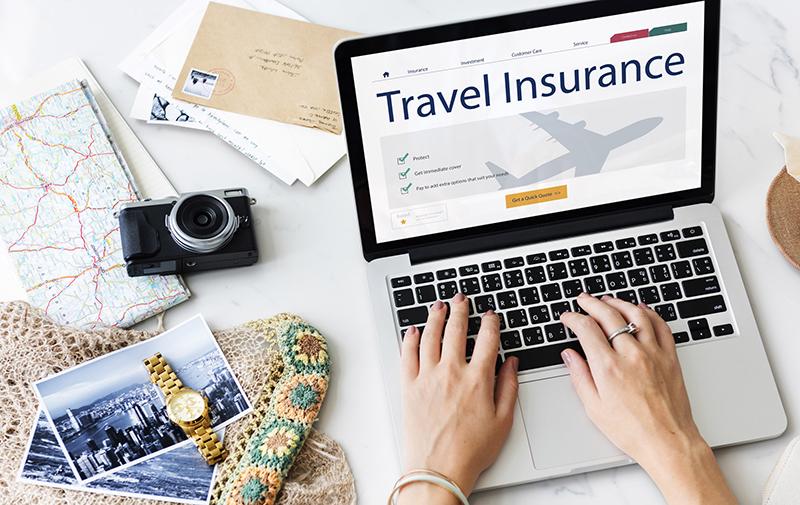 Contratação online do seguro viagem internacional