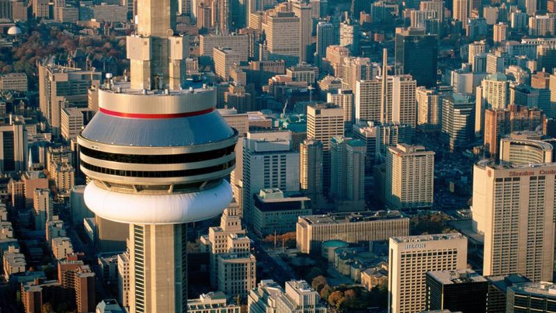 Observatório da CN Tower em Toronto