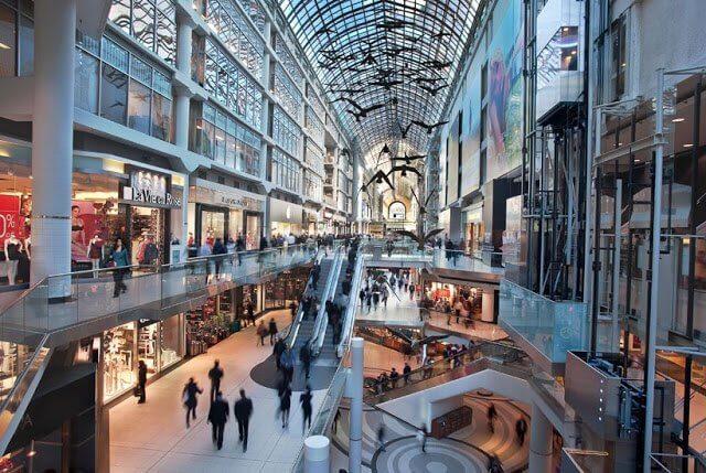 Top 5 lugares para comprar em Toronto