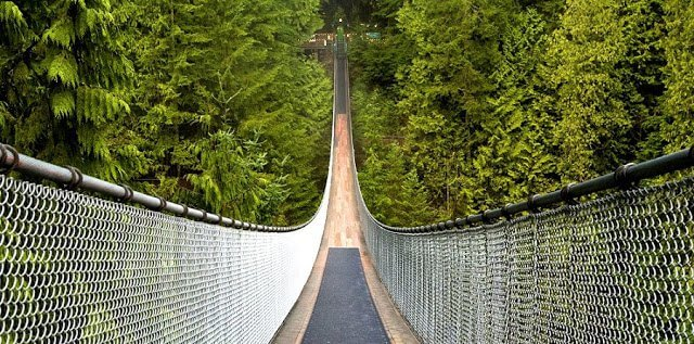 Ingressos para o Capilano Suspension Bridge