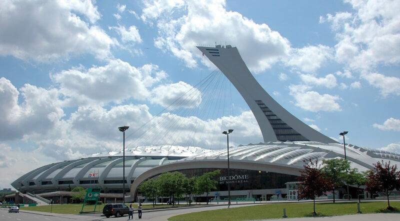 Complexo Olímpico e Biodôme em Montreal