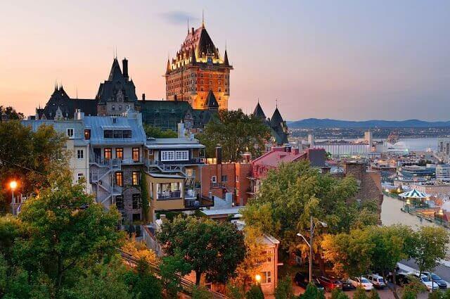 Fuso horário em Quebec x Brasil