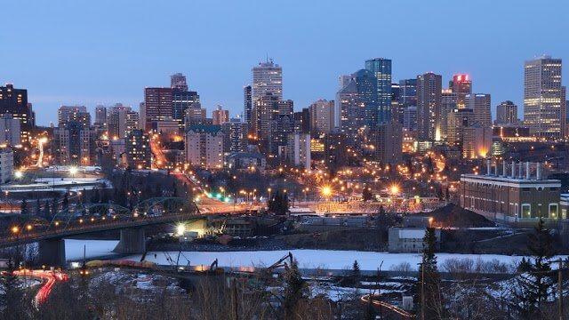 Quanto tempo ficar em Edmonton