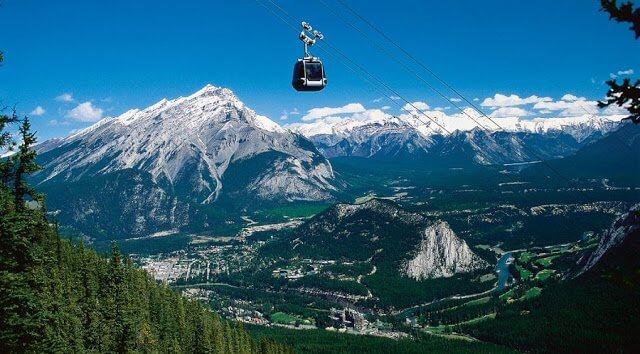 Parque Nacional de Banff no Canadá