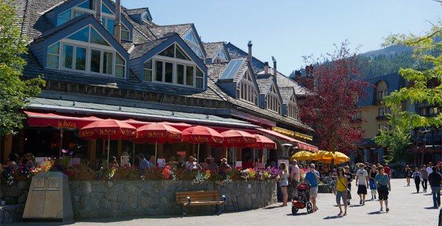 Restaurantes em Whistler