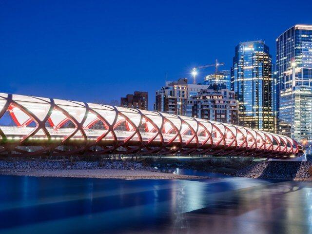 Peace Bridge em Calgary