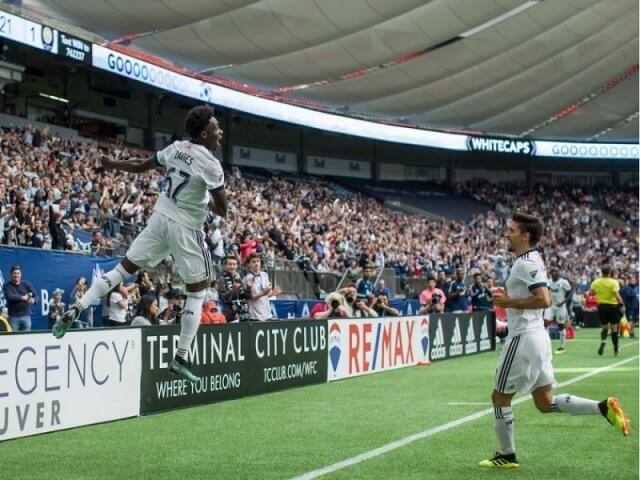Assistir a um jogo de futebol do Vancouver Whitecaps