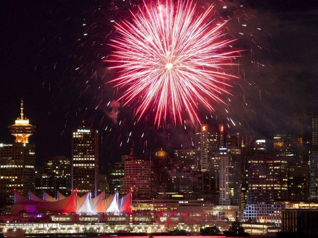 O que fazer no ano-novo em Vancouver em 2018