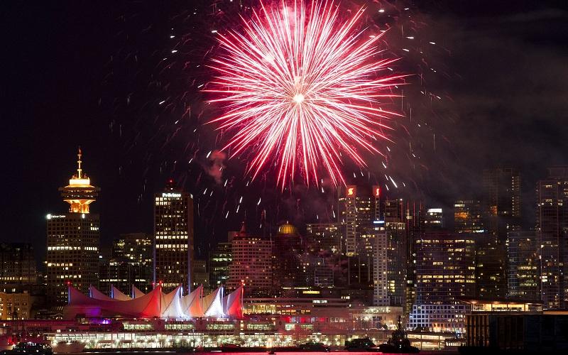 Ano Novo em Vancouver