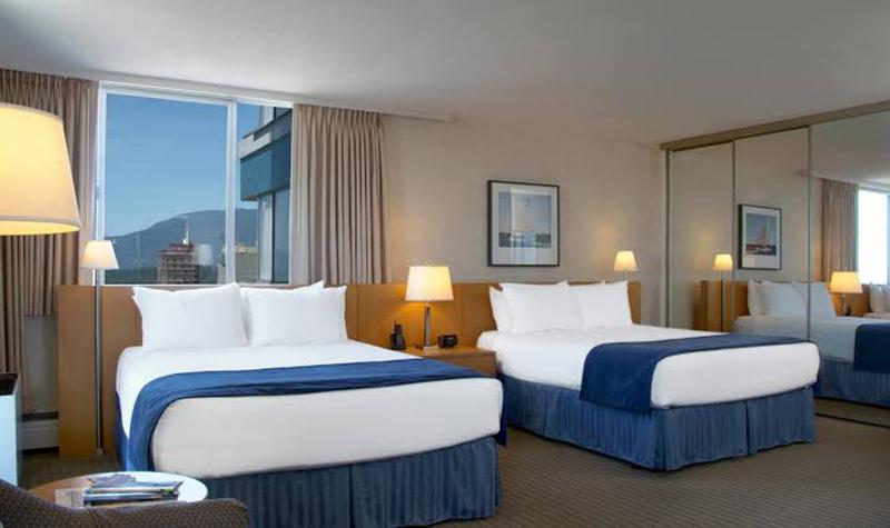Blue Horizon Hotel em Vancouver