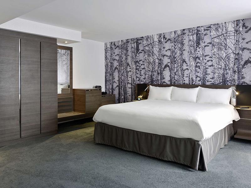Quarto Hotel Novotel City Centre em Ottawa