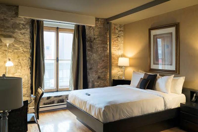 Quarto Hotel Port-Royal em Quebec