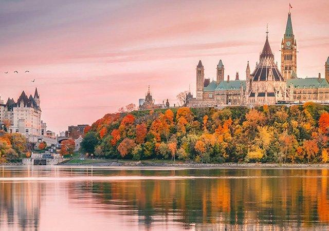 Viagem para Ottawa saindo de Montreal