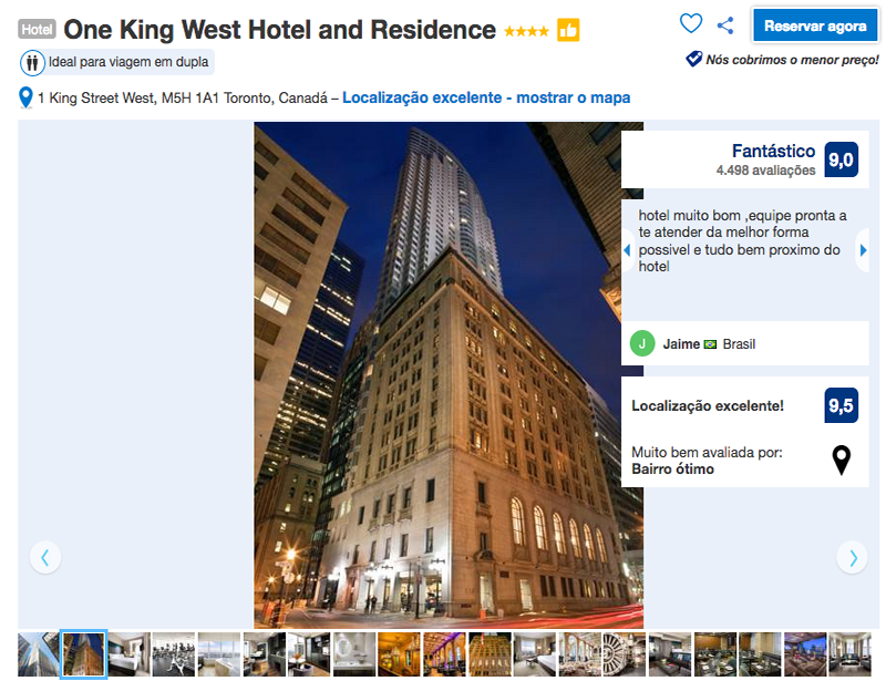 Reservas no One King West Hotel and Residence em Toronto