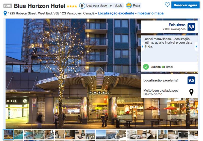 Reservas no Blue Horizon Hotel em Vancouver