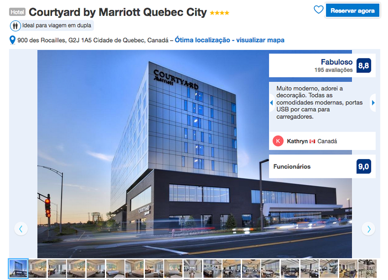 Courtyard by Marriott em Quebec