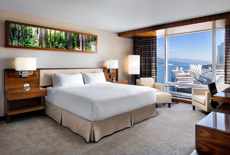 Suíte Hotel Fairmont Pacific Rim em Vancouver