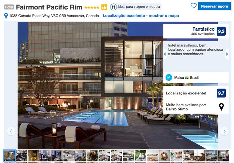 Hotel Fairmont Pacific Rim em Vancouver