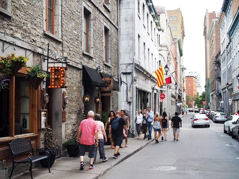 Excursão por West Side em Montreal