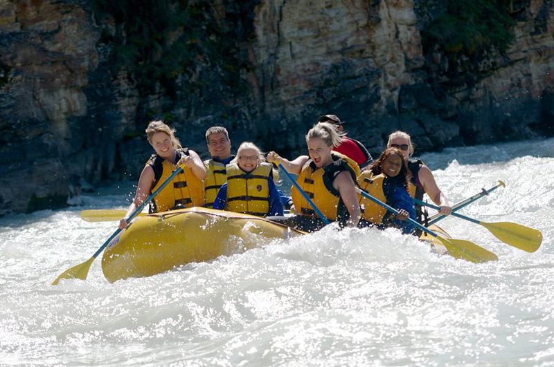 Rafting em Jasper