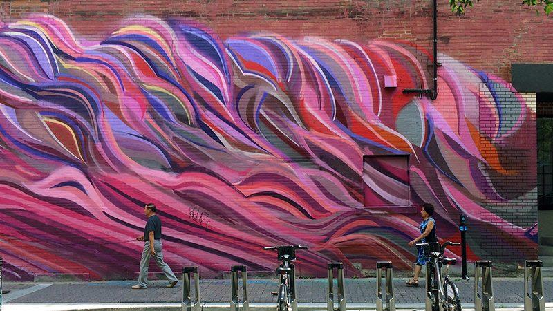 Excursão de arte de rua em Montreal
