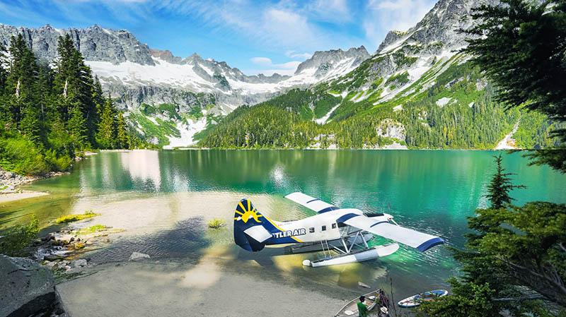 Passeio Alpine Lake Landing em Whistler