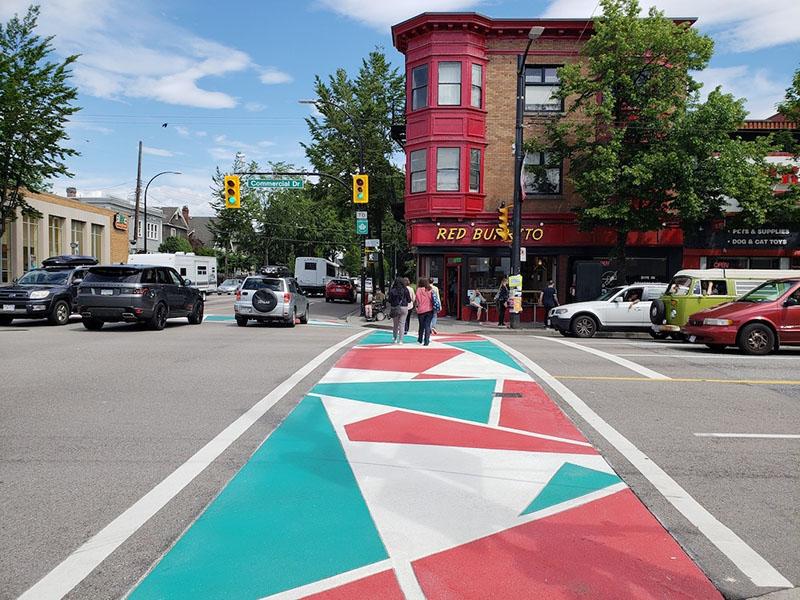 Ruas da Little Italy em Vancouver