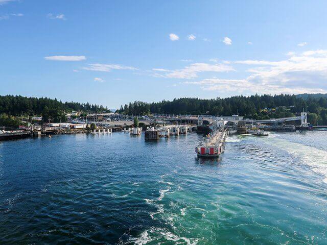 Como ir de ferry de Vancouver a Victoria