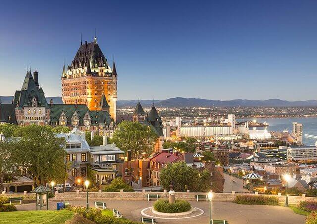 Meses de alta e baixa temporada em Quebec