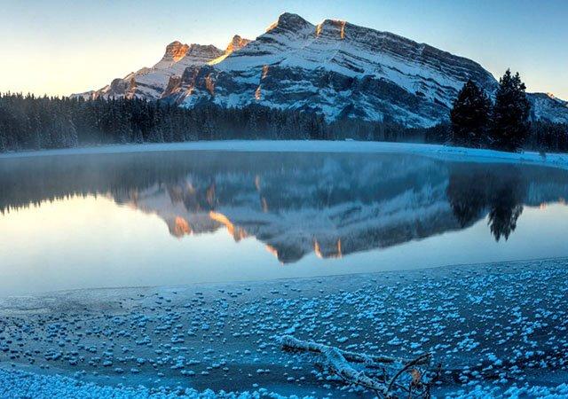 Passeio pelos lagos de Banff