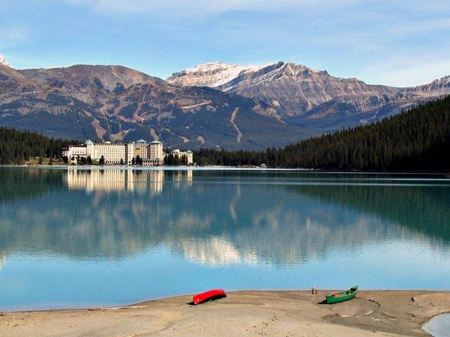 Excursão no Vale do Glaciar Stanley em Banff