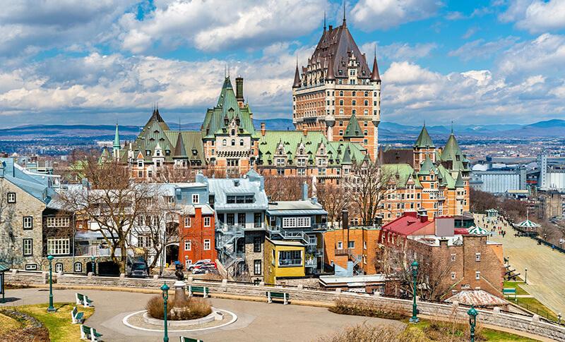 Centro Histórico da cidade de Quebec
