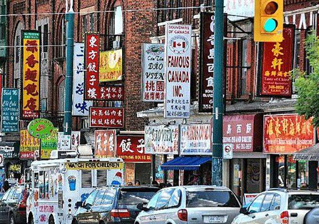 Passeio por Chinatown em Toronto