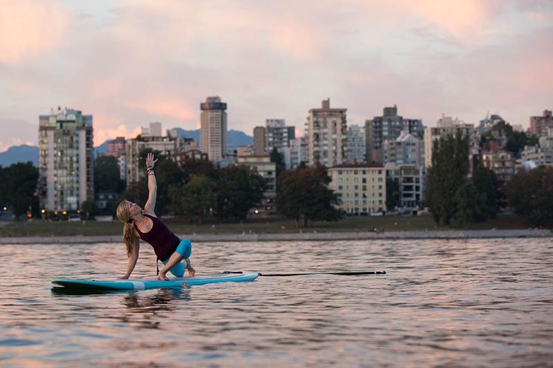 Yoga no Stand Up em Vancouver