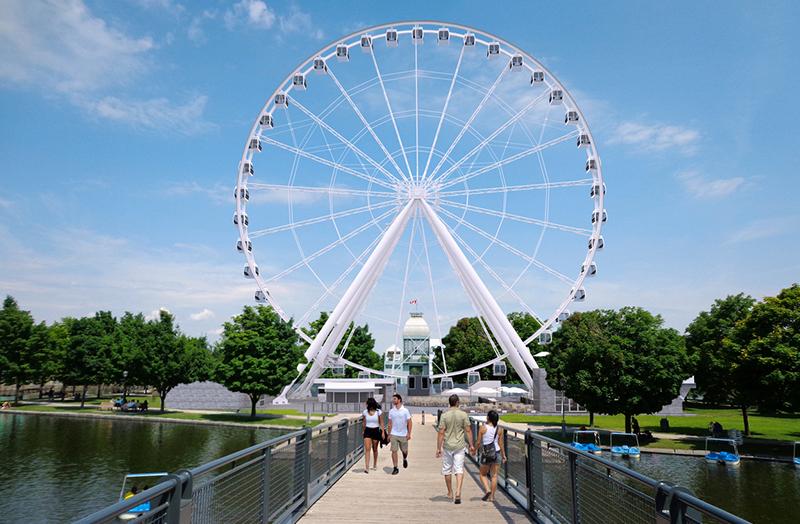 Roda-gigante da La Grande Roue em Montreal
