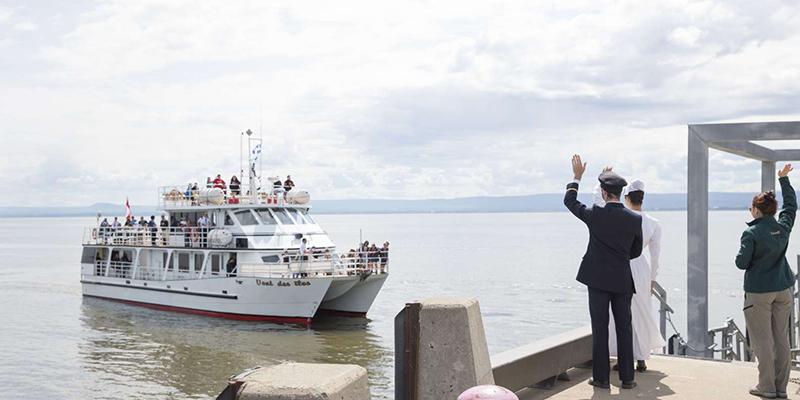Visita ao Memorial do Imigrante em Quebec