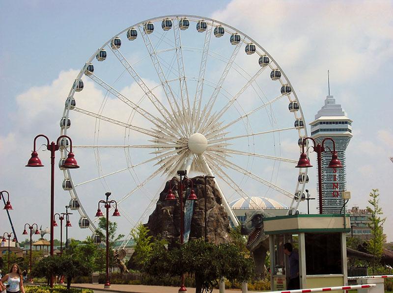 Roda gigante SkyWheel em Niagara Falls