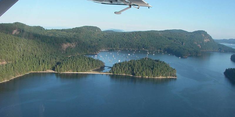 Excursão pelas Ilhas do Golfo em Vancouver
